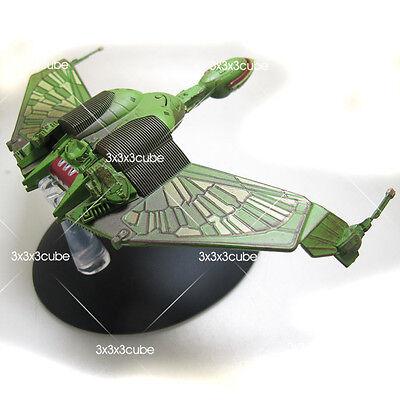 STAR TREK Collection #3 Klingon bird of prey Diecast Model Starship Eaglemoss