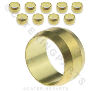 IMPERIAL-SIZE-BRASS-OLIVES-FOR-COPPER-PILOT-TUBING-1-8-3-16-5-16-1-4-3-8