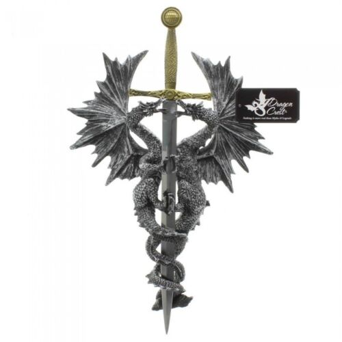 Gothic Dungeons and Dragons Dagger Sword Wall Plaque Game of Thrones Room Decor