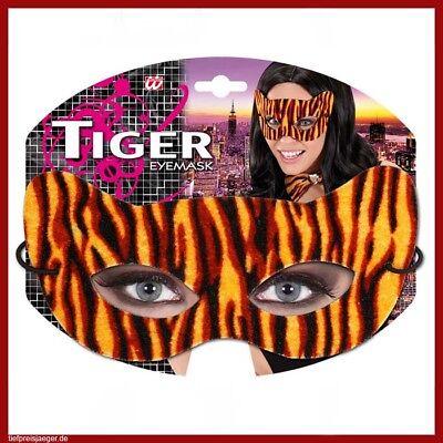 chungel Urwald Tiger Katze Wildkatze Maske Kostüm Party 8733 (Katze Maske Kostüm)