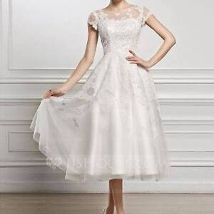 JJ's House A-Line/Princess Scoop Neck Wedding Prom Dress Meadowbank Ryde Area Preview