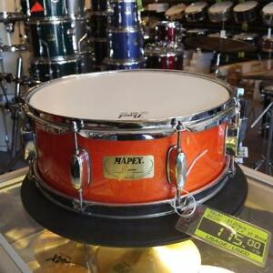 Mapex M-Birch snare orange - used/usagée