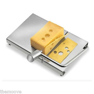 Simple Design Cheese Slicer Cutter Board Stainless Steel Easy to Clean AU