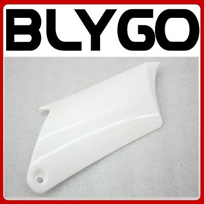 White Plastic Rear Right Side Number Guard Fender APOLLO ORION PIT PRO Dirt Bike