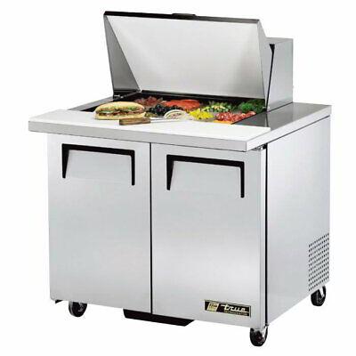 True Tssu-36-12m-b 36 Sandwichsalad Prep Table W Refrigerated Base 115v