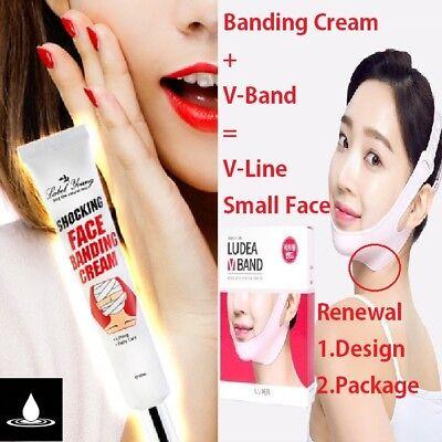 LABELYOUNG x LUDEA Face Banding Cream + V-BAND Lifting Mask V-Care Korea