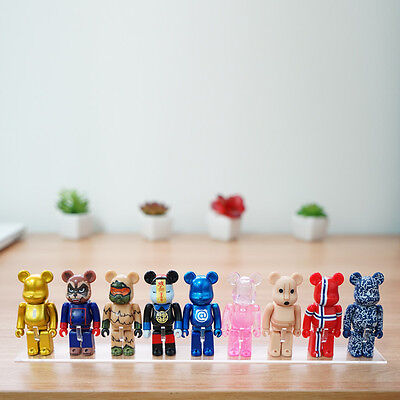 [NEW] Beartoy Transparent Showcase stand for bearbrick only.