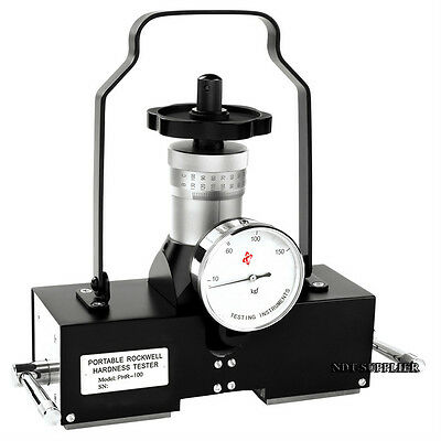 New Phr-100 Magnetic Type Rockwell Hardness Tester Meter