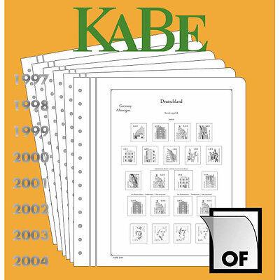 KABE BI-COLLECT Bundesrepublik Deutschland 1957 4 Seiten Neuwertig TOP! (445)