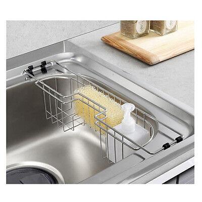 New Stainless Steel Kitchen Utensils Multi Sink Cleanser Dish Sponge Tray