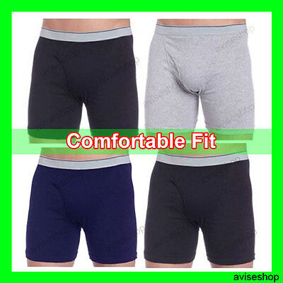 Mens Cotton STRETCH BOXER BRIEFS Underwear Trunk Short best selling S~3XL (Best Mens Boxer Briefs)