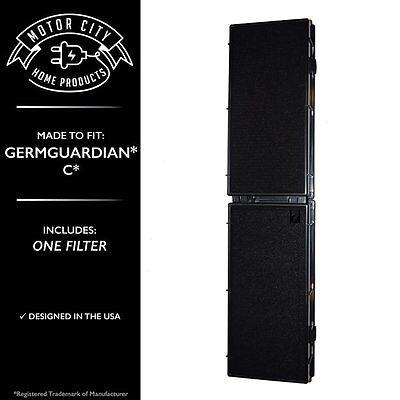 HEPA AIR FILTER FOR GERMGUARDIAN GERM GUARDIAN FLT5000 FLT 5000 FLT5111 FILTER C (Air Filter Germ Guardian)