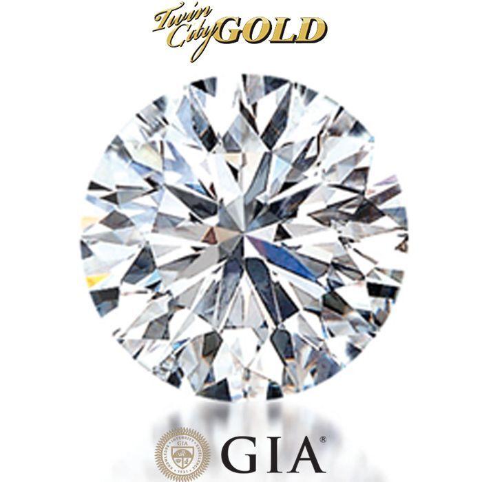 GIA Certified Round Brilliant 0.69 Carat CT K Color VS1 Clarity Loose Diamond