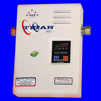Titan Tankless N-120 Water Heater - Newest electric model with best price