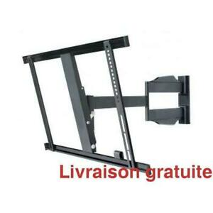 Support a TV articule a profile mince / Articulating TV Bracket low profile