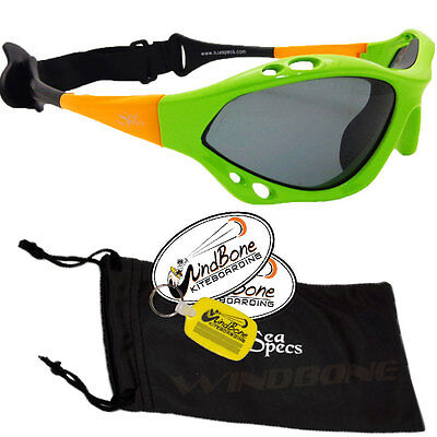 49f557c6986 SeaSpecs Classic Retro Specs Green Water Sport Polarized Kitesurfing  Sunglasses
