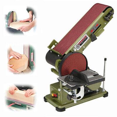 Sanding Machine (3/4 HP Belt Disc Sander Electric Bench Grinder Miter Bevel Wood Sanding)