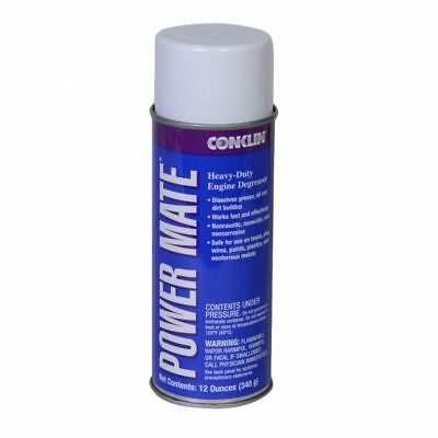 Conklin Power Mate Heavy-Duty Engine Degreaser (6) 12oz. Cans