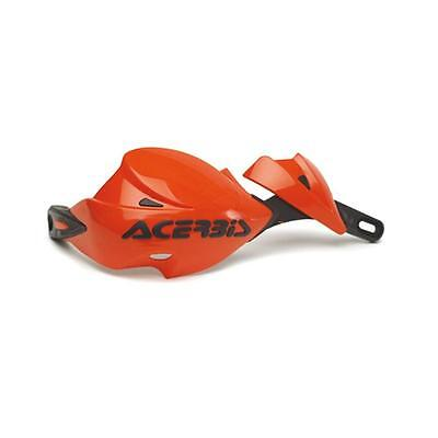 Acerbis motorcycle off road rally 2 hand guards universal orange enduro ktm