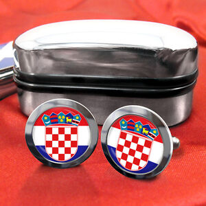 Croatia-Croatian-Hrvatska-Coat-of-Arms-Cufflinks-Box