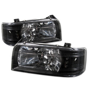 Ford Bronco / F150 F250 F350 (1992-1996) Spyder Auto Headlights