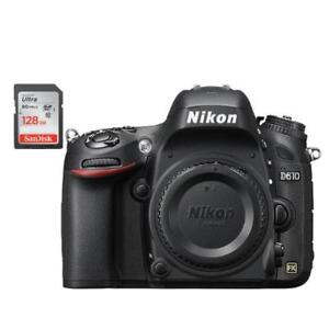 NIKON D610 BODY + BUNDLE SPECIAL