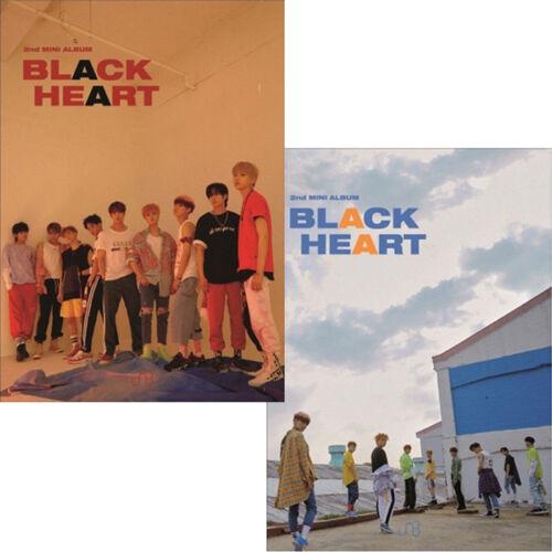 UNB+%5BBLACK+HEART%5D+2nd+Mini+Album+2+Ver+SET+2CD%2B2ea+PhotoBook%2B4p+PhotoCard+SEALED