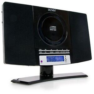 CD-Player Radio Fernbedienung Musikanlage Boombox Hifi Stereo System Wandmontage