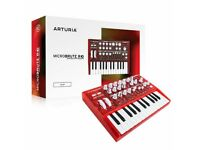 arturia microbrute,red ltd edition, new in box