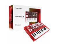 arturia microbrute,red ltd edition, new in box