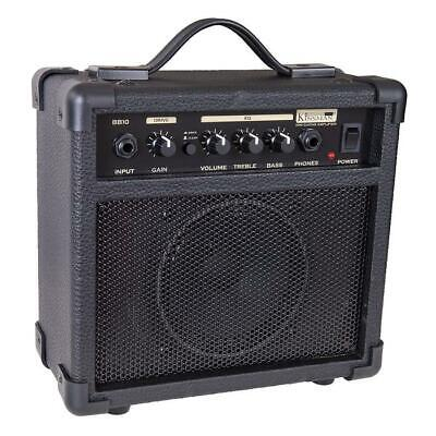 Kinsman BB10BS 10W Practice Electric Guitar Amplifier AMP
