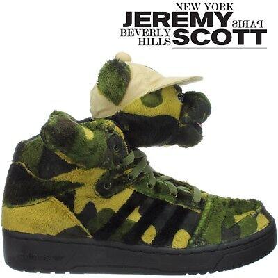 Adidas JEREMY SCOTT JS CAMO BEAR camouflage Damen Herren Designer Sneaker OVP