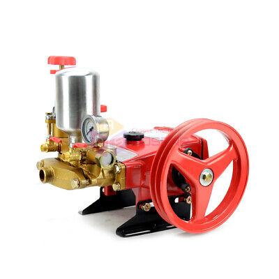 High Pressure Triplex Cylinders Plunger Pump Agricultural Motor Sprayer Pump