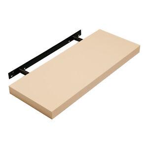 high gloss floating shelf shelves black white cream pink. Black Bedroom Furniture Sets. Home Design Ideas