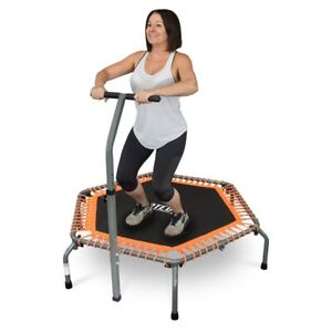 REBOUNDER WITH HANDLE TRPH BY RATED® MINI TRAMPOLINE