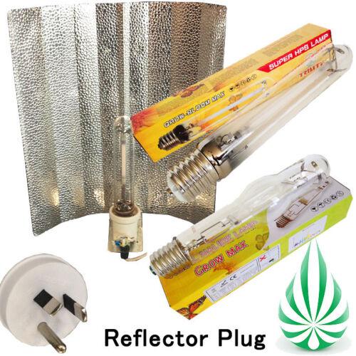 reflector with 600w hps lamp mh lamp bulb hid grow light kit ebay. Black Bedroom Furniture Sets. Home Design Ideas