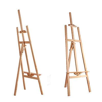 Qualitäts- Staffelei, Holzstaffelei, Werbeträger, Standstaffelei , Malergestell