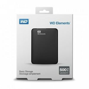 New In Unopened Box External Hard Drive