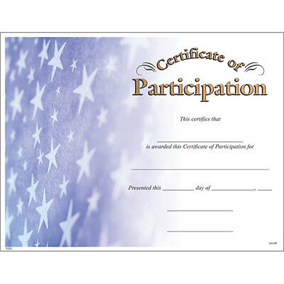 Award Certificate of Participation, Pack of 15](Certificate Of Award)