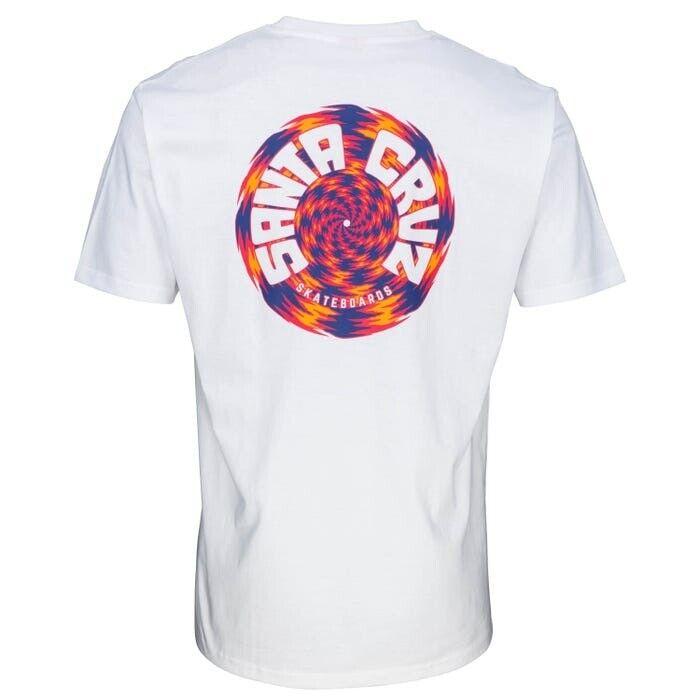 Santa Cruz TORTILE Skateboard T Shirt WHITE XXL