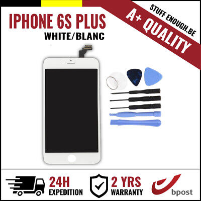 A+ LCD TOUCH SCREEN DISPLAY/SCHERM/ÉCRAN WHITE BLANC & TOOLS FOR IPHONE 6S PLUS