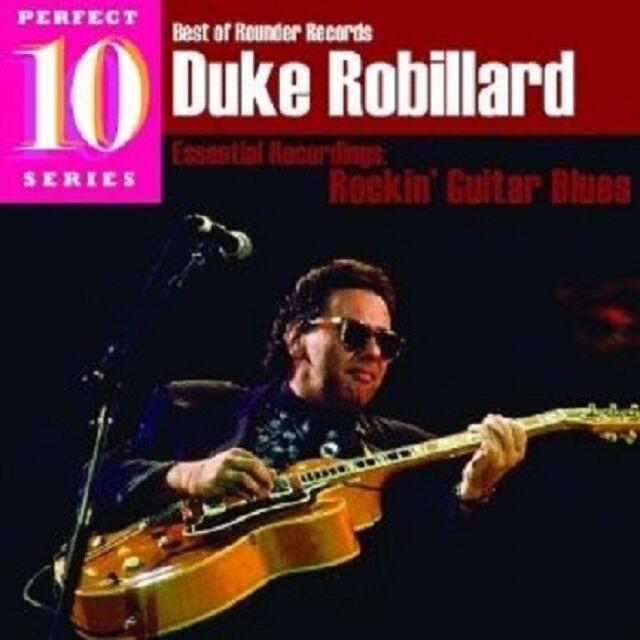 DUKE ROBILLARD - BEST OF ROUNDER: ROCKIN GUITAR BLUES  CD NEU