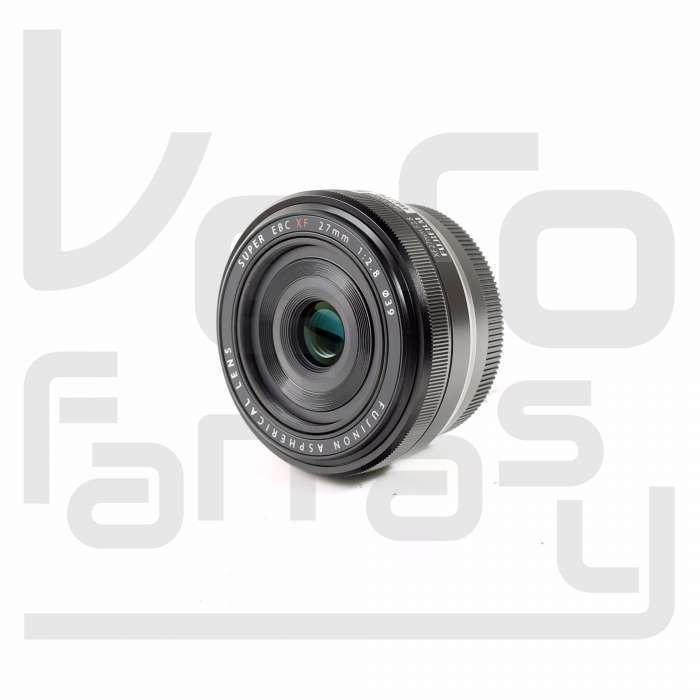 Fujifilm -f/2.8 Compact Prime Lens for Fujiflm XM-1, X-Pro1 and X-E1 Digital Cameras Black XF 27MM