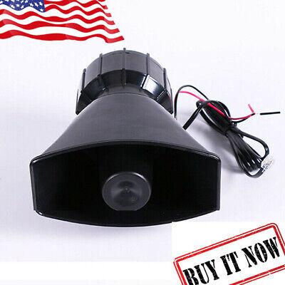 Best Car Truck Alarm Police Fire Loud Speaker PA Siren Horn MIC System