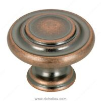 Antique Copper Cabinet Knobs and Pulls