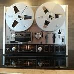 Akai - 4000DS - witte kast - Geserviced - Tape Deck 18 cm