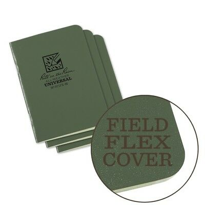 Rite In The Rain 971fx-m All-weather Universal Stapled Notebooks Green