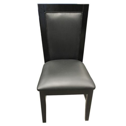 8pcs Solid Wood Poker Table chair match MRC Poker Tables BLACK COLOR