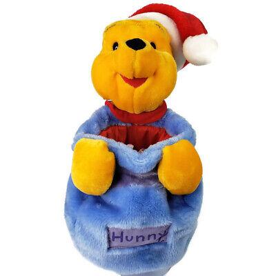 Disney Winnie the Pooh Hunny Jar Plush Santa Christmas Stocking