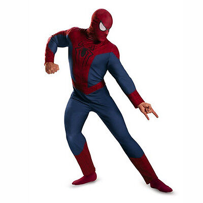 The Amazing Spider-Man 2 Adult / Teen Classic Costume 2014 Movie Disguise 73042](Teen Movie Costumes)